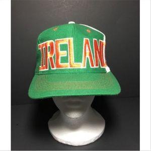 Vintage adidas Trefoil Ireland FAI Snapback Hat
